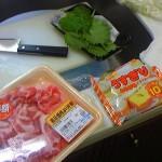 揚げない豚肉の大葉チーズロール。