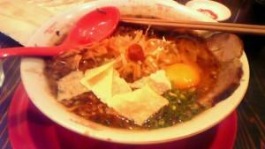 紀州湯浅吟醸醤油ラーメン+餃子の皮