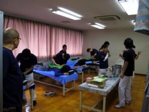 関西医療学園 灸道部学園祭