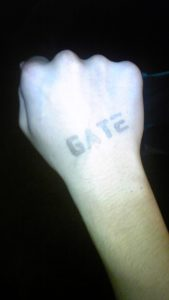 GATE スタンプ