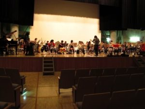 海南市吹奏楽団練習風景