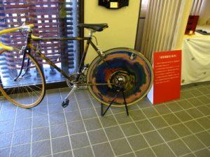 漆器の自転車