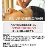 明日は奈良県で刺さない美容ハリを行います。