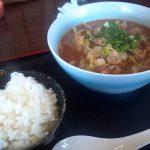 広川町のラーメン屋さん『むらなか』で昼ごはん。